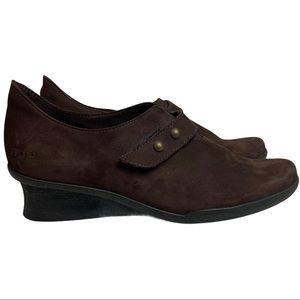 Arche Chocolate Brown Comfort Shoes Size 38